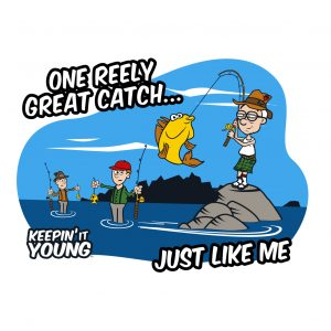 Keepin it Young - Fishing T-shirt