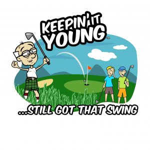 Keepin it Young -Golfing T-shirt